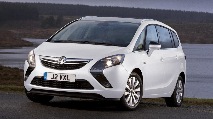 Vauxhall Zafira Tech Line announced