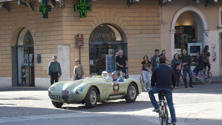 Stirling Moss and Norman Dewis reunite for 2012 Mille Miglia