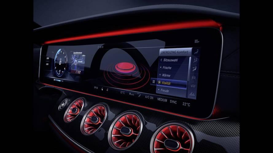 La nouvelle Mercedes CLS montre son instrumentation
