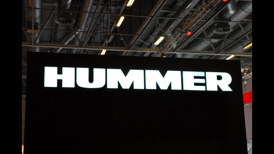 Hummer al Salone di Parigi 2008