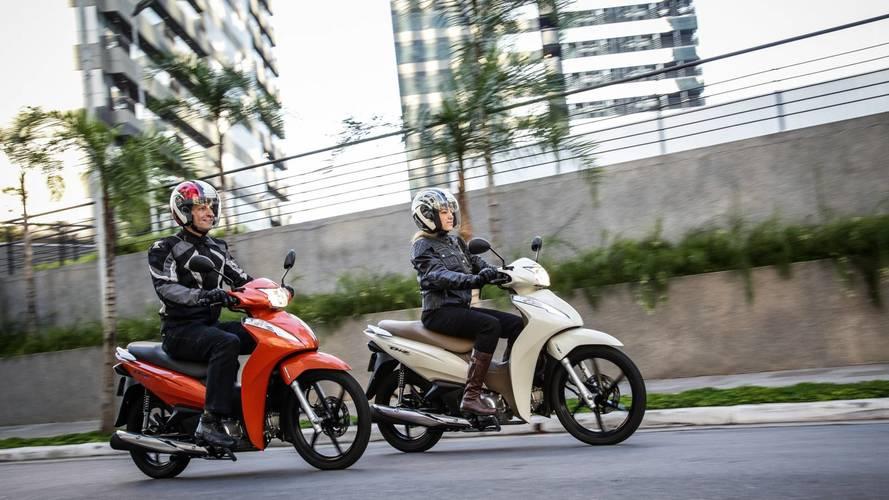 Primeiras Impressões - Honda Biz 2018 evolui em estilo e segurança