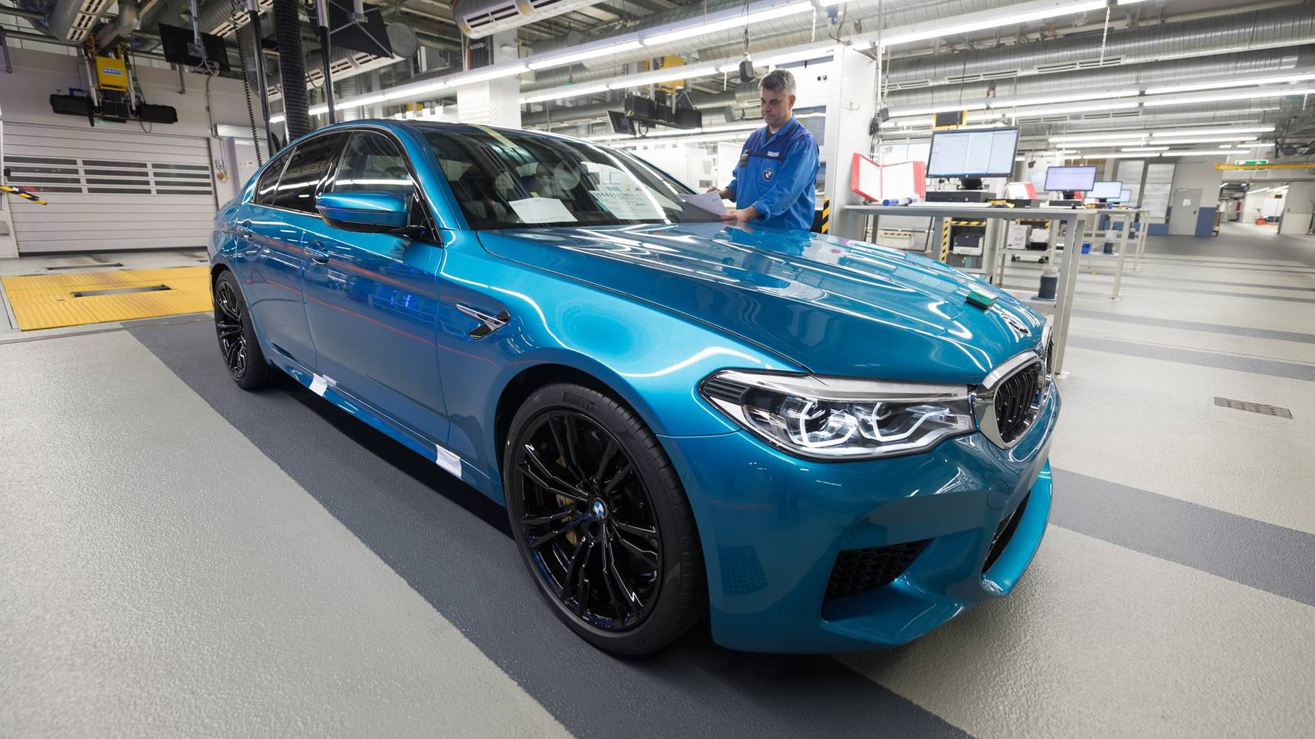 2018 Bmw M5 Finally Goes Into Production In Germany