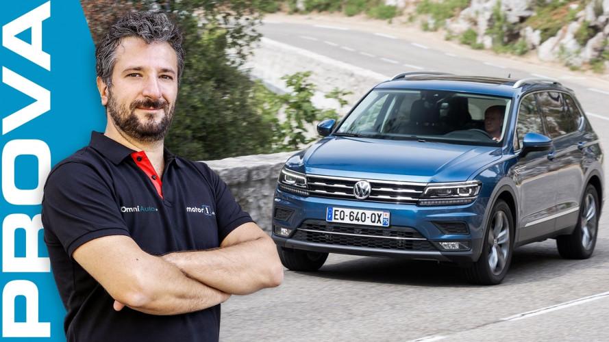 Volkswagen Tiguan Allspace, il SUV a tutto spazio