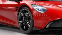 Aston Martin a motore centrale, il rendering