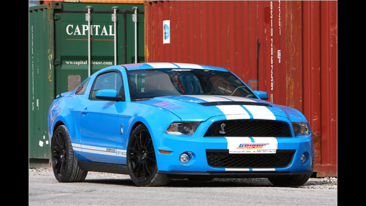 Ford Mustang mit 810 PS