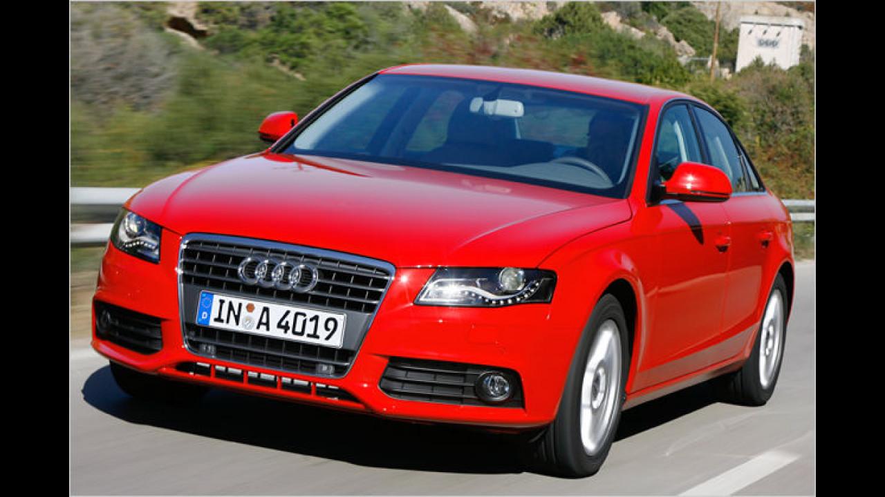 Audi-Effizienz-Tour 2008