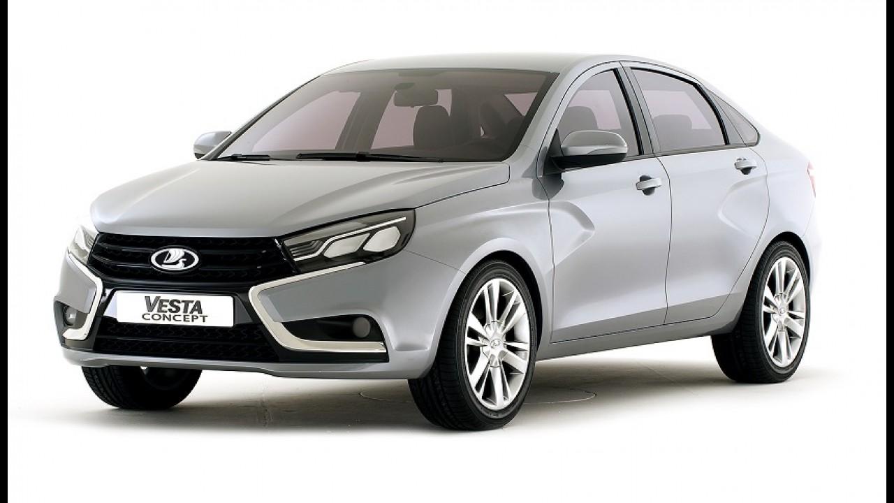 Lada é a nova Dacia: marca russa mostra Vesta e X-Ray, derivados do Logan