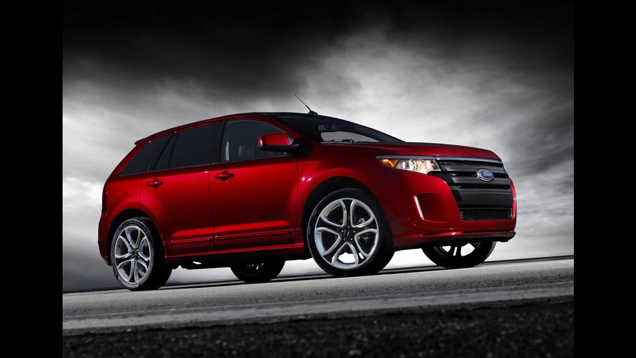 Ford Edge Sport 2011 - Confira vídeo e galeria de fotos da versão esportiva