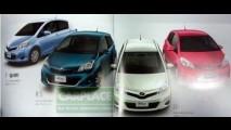 Vazam imagens do Novo Yaris 2011 - Será assim o Toyota Corolla 2012?