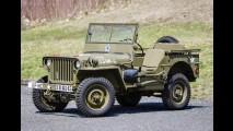 Jeep da Segunda Guerra Mundial estará no leilão de Greenwich