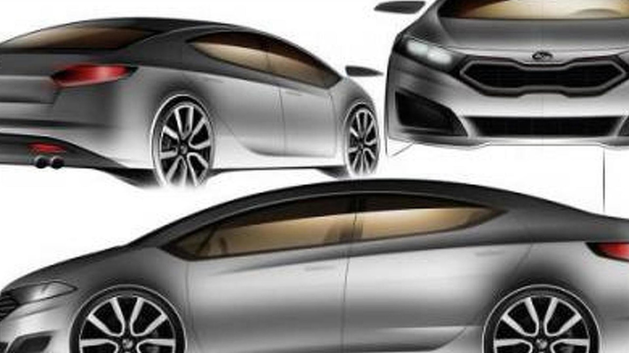 2013 Kia Forte leaked design sketch, 600, 15.12.2011