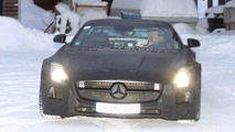 2013 Mercedes SLS AMG Black Series spy photo 10.1.2012