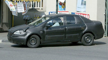 Fiat Punto Sedan Spy Photo