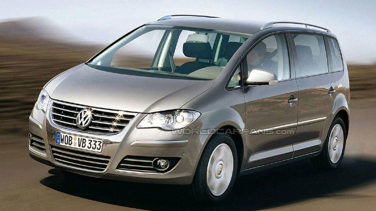 New Volkswagen Sharan - Artist Impression
