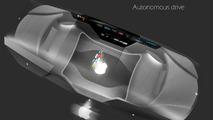 Apple Car 2076, akıllı cam