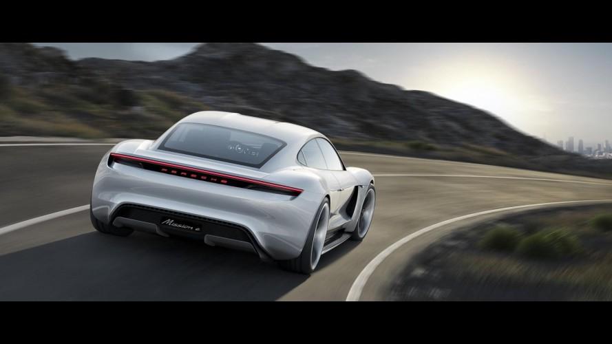 Porsche, Mission E'de yıllık 20 bin satış bekliyor