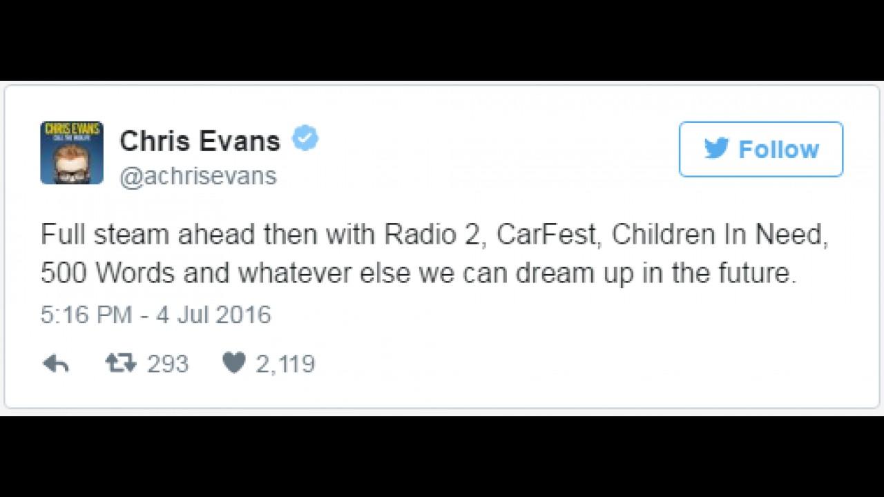 Chris Evans Top Gear'daki görevinden ayrıldı