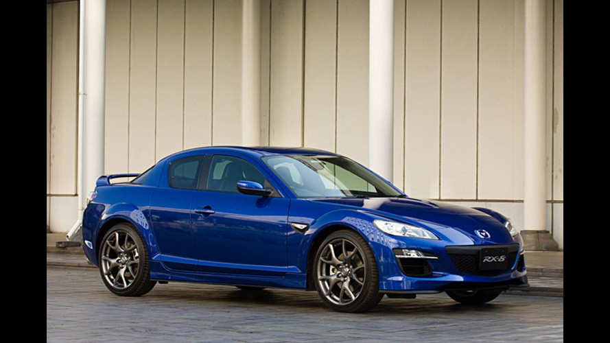 Mazda RX-8 restyling e RX-8 RS