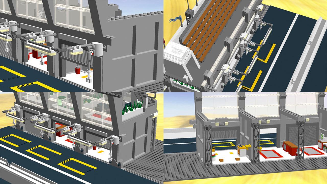 Lego Le Mans Garage