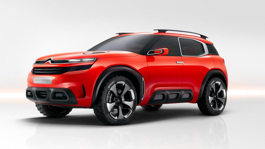 Citroen Aircross concept revealed with bold styling