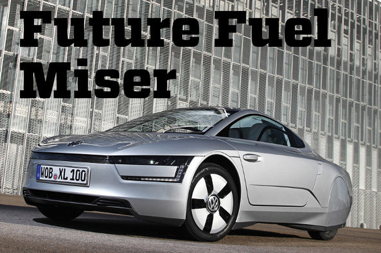 Volkswagen XL1 is the Future of Fuel-Efficient Driving