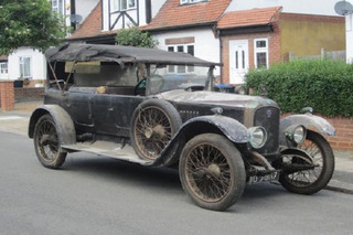 Rare 1923 Vauxhall Taxi Sells For $89K at Auction