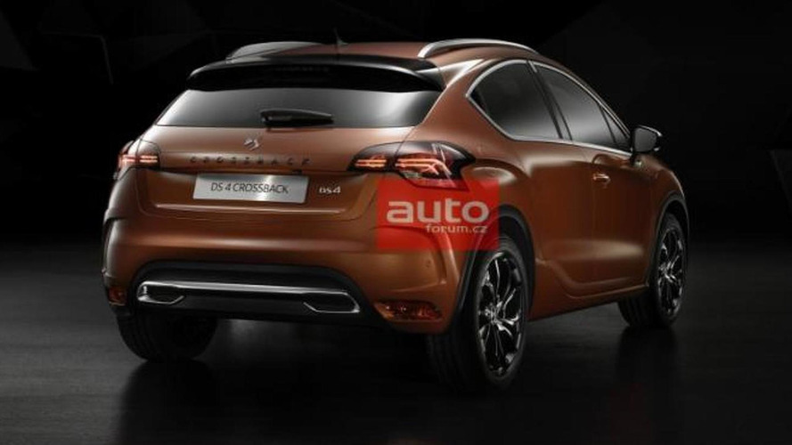 DS4 facelift and DS4 Crossback leaked
