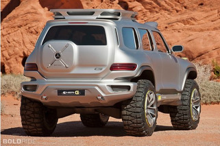 Mercedes Ener-G-Force Concept- It Came From Outer Space!