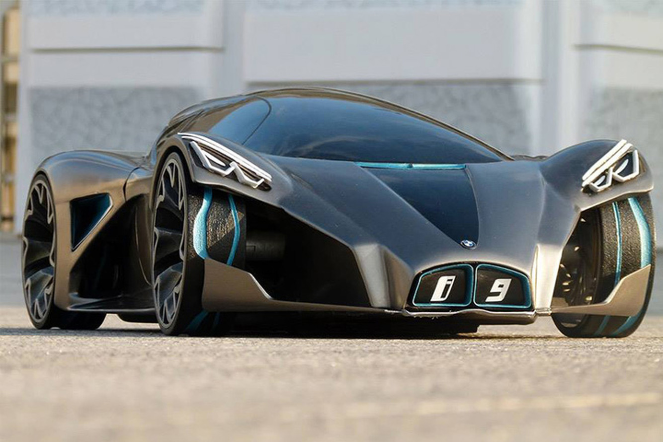BMW i9 Design Concept Looks Like Something From the Future