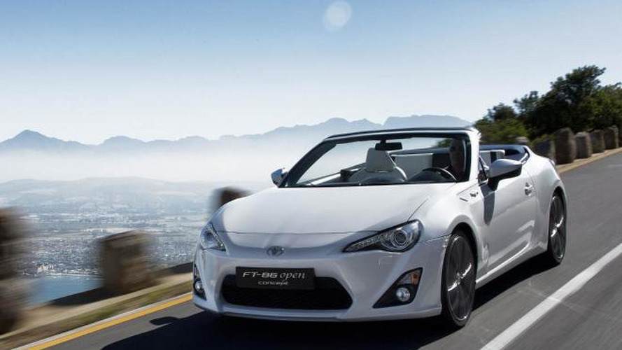 Subaru boss downplays the possibility of a BRZ / GT 86 convertible, says it would require a redesign