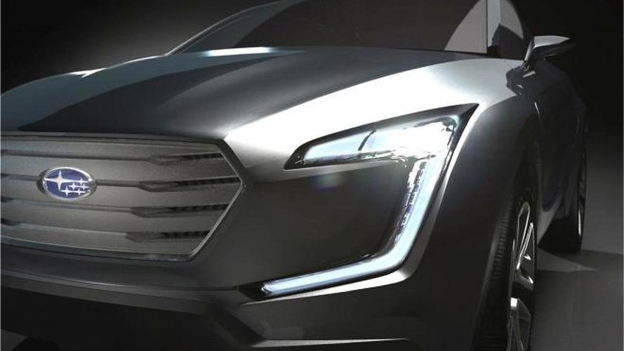 Subaru VIZIV crossover concept to arrive in Geneva next month