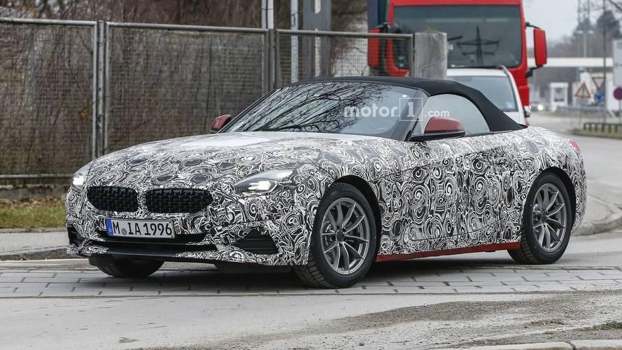2019 BMW Z4 spied with less camo