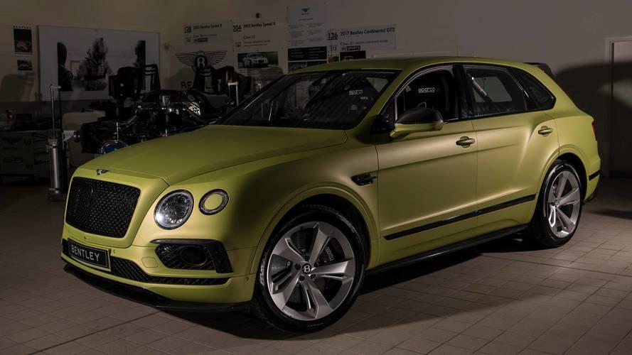 Bentley veut briller à Pikes Peak avec ce Bentayga