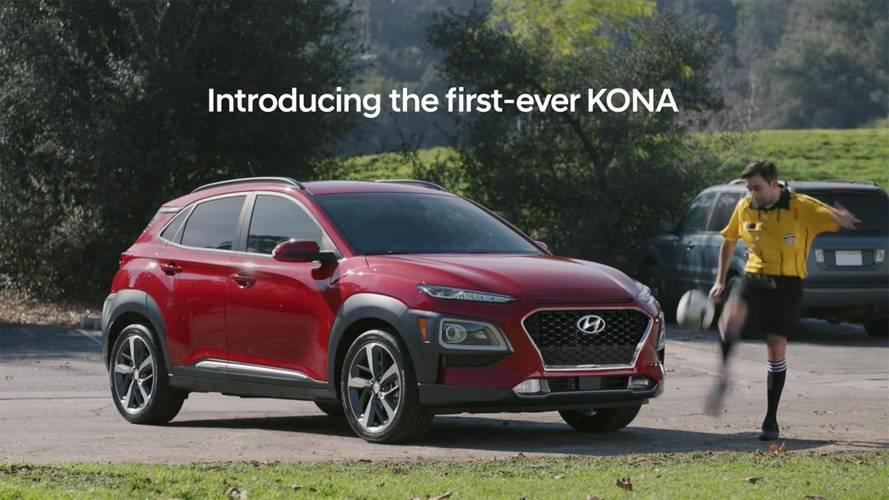 Hyundai Kona Super Bowl Ad Kicks Kid Soccer Players Off The Field