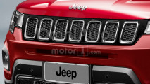 Jeep baby SUV, il rendering