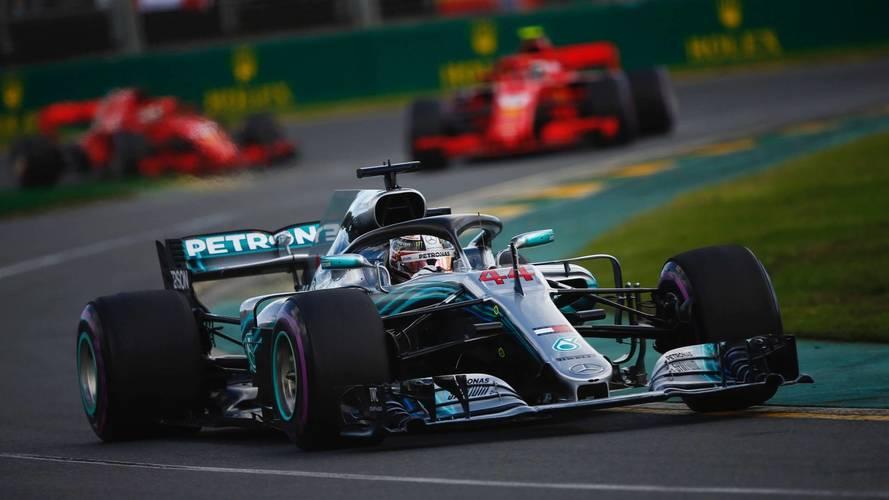 Resultado de imagen de Hamilton mercedes f1 2018 Australia
