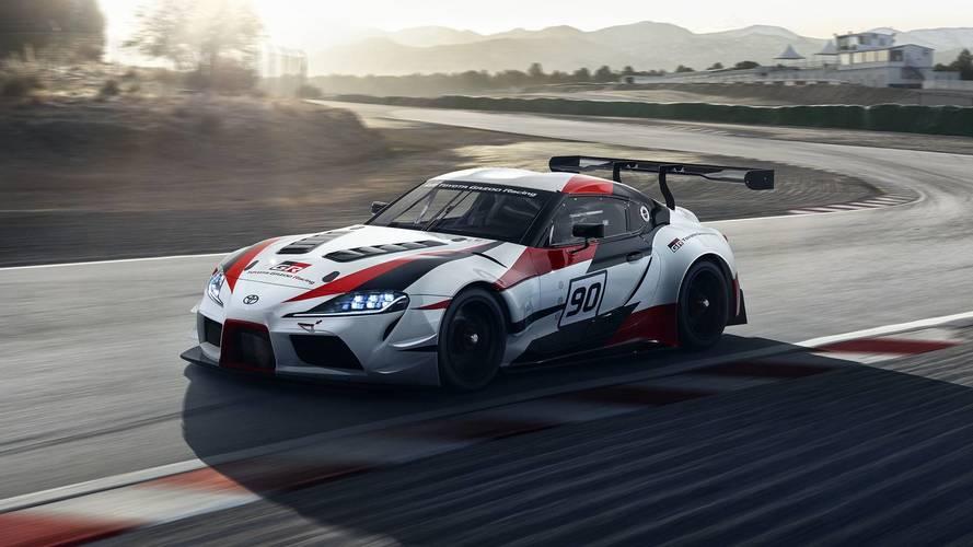 Toyota GR Supra Racing Concept'i videolarla yakından tanıyın