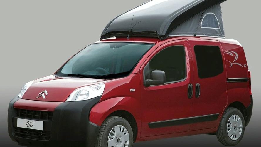Citroen Nemo Gets Caravan Conversion by Romahome