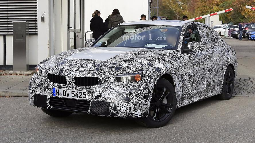 Photos espion de la BMW Série 3 G20 2018