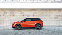 Range Rover Evoque Coupe naranja
