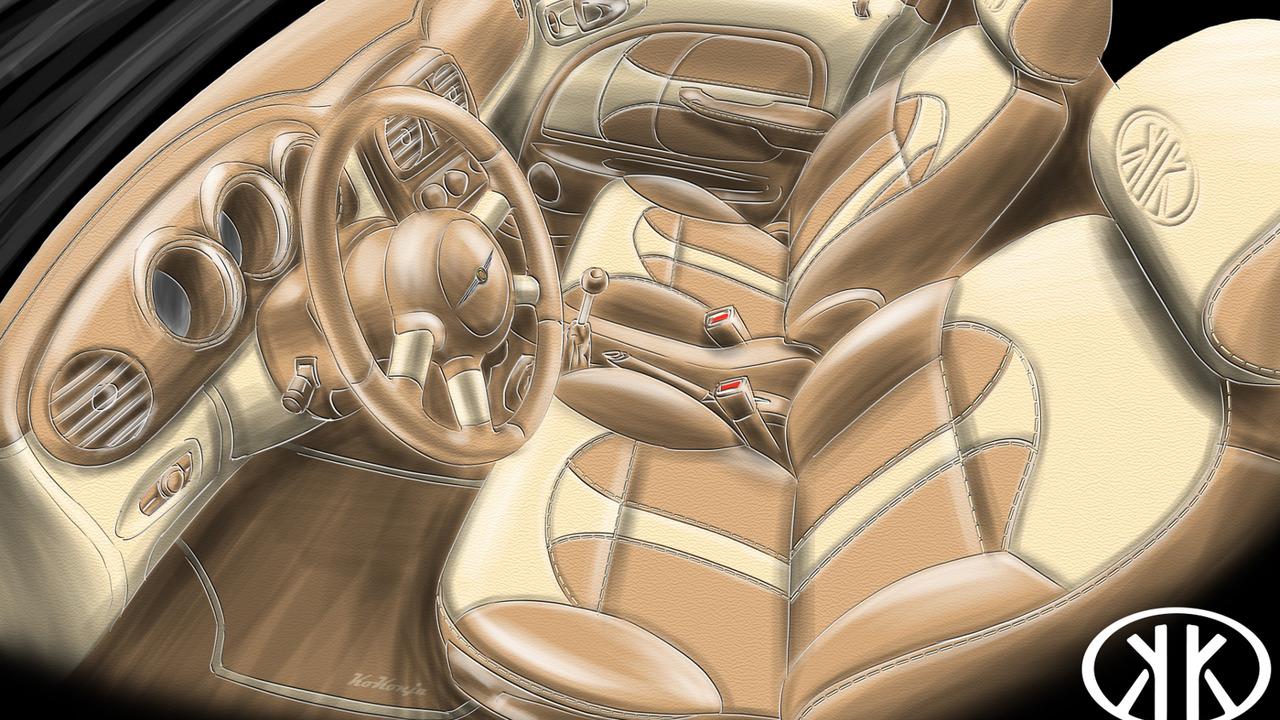 Carbon Motors Chrysler PT Cruiser Widebody