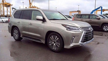 2016 Lexus LX spy photo