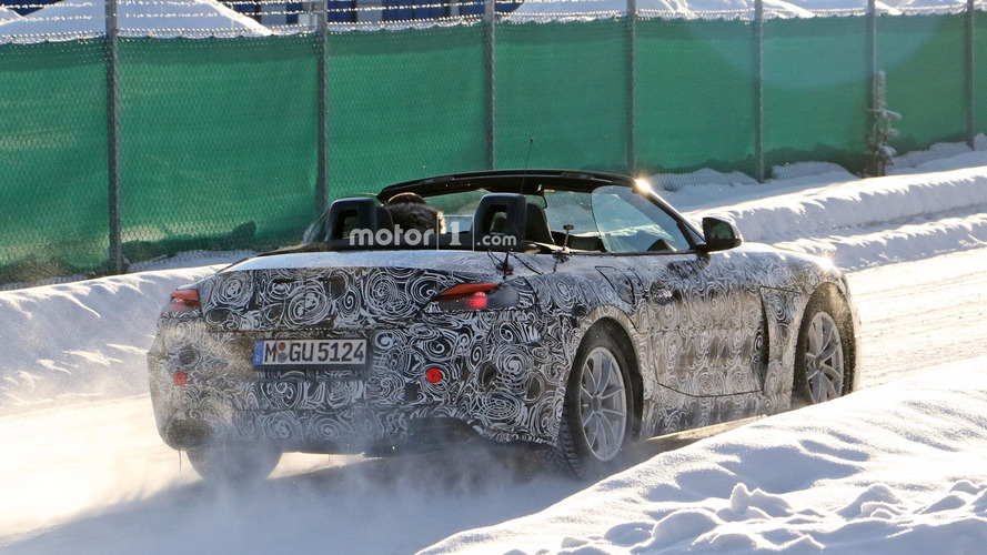 BMW Z5 2018 fotos espía