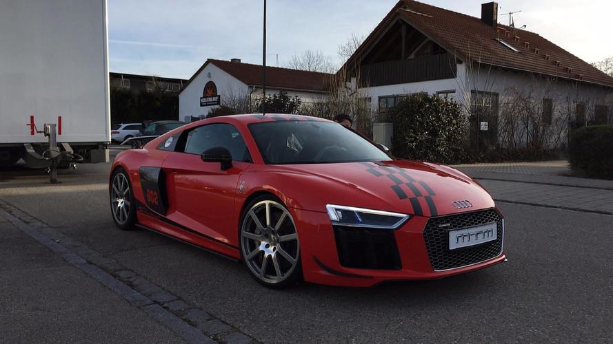 0-324 km/h 33 másodperc alatt - Audi R8 V10 Plus MTM