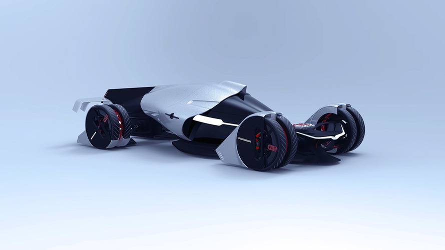 Un designer imagine la Tesla des 24 Heures du Mans en 2030