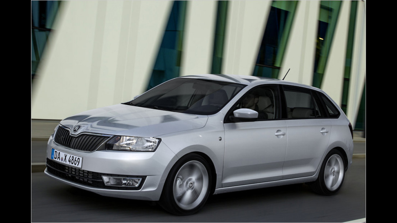 Skoda Rapid Spaceback 1.2 TSI 63 kW