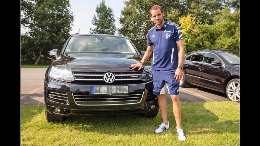 Neue VWs für Schalke-Profis
