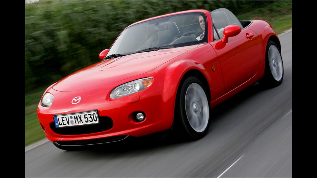 Platz 8: Mazda MX-5