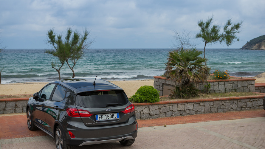 Ford Fiesta Active Drive in Italy Isola d'Eba