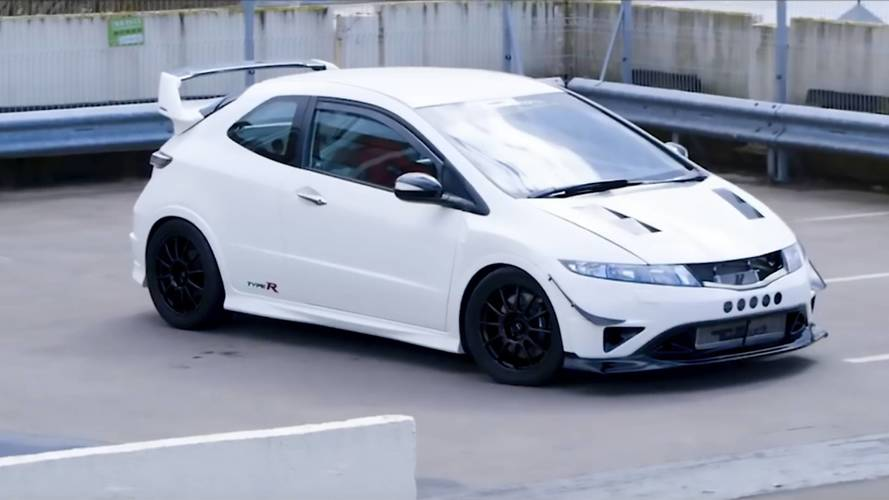 Custom Honda Civic Type R Has More Power Than An Aventador SV